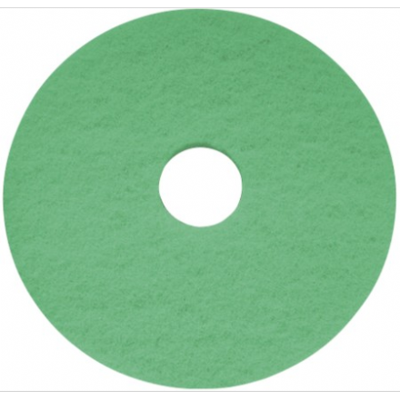 "17"" Green Cleaning Pad"